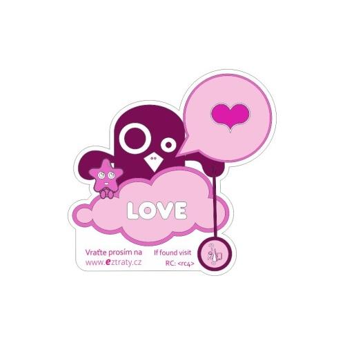 Pink Love Bird