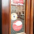 Nálepka eztraty.cz na dveřích
