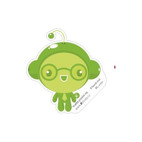 Zelený panáček